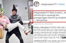 5 Caption romantis Vicky Prasetyo untuk Angel Lelga, bikin gagal paham