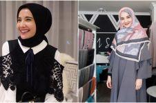 10 Gaya baru Zaskia Sungkar kenakan hijab syar'i usai pulang umrah