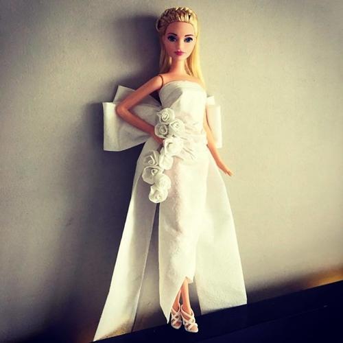 Cuma Dari Tisu 15 Gaun Pengantin Barbie Ini Justru Bak Karya Des