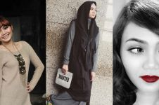 Tampil dengan gaya rambut baru, Rina Nose bikin warganet pangling