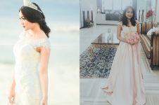 5 Pesona Marion Jola pakai gaun panjang, bak putri kerajaan