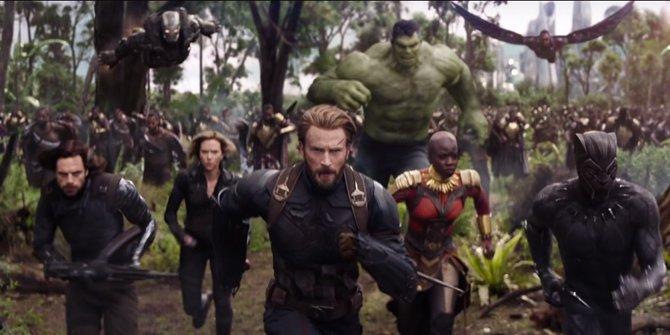 Ini 22 superhero yang bakal muncul di Avengers: Infinity War