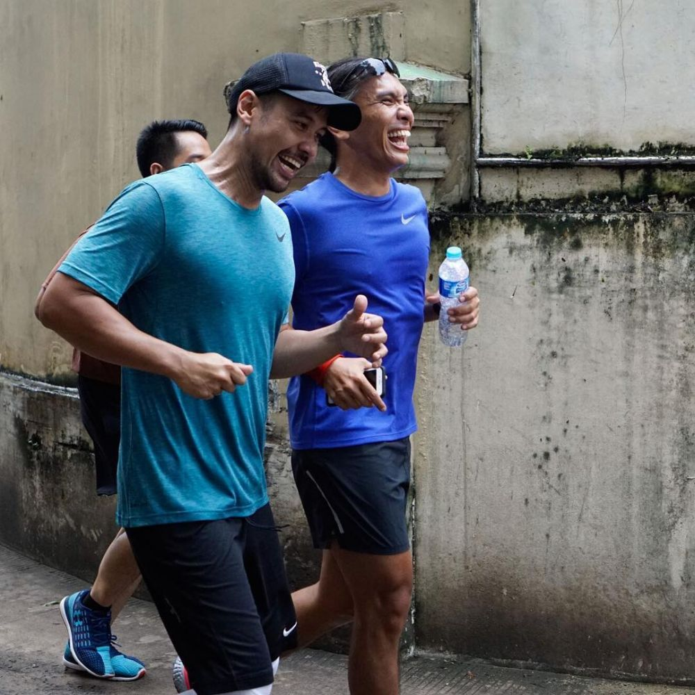 chicco latihan marathon © Instagram/@chicco.jerikho
