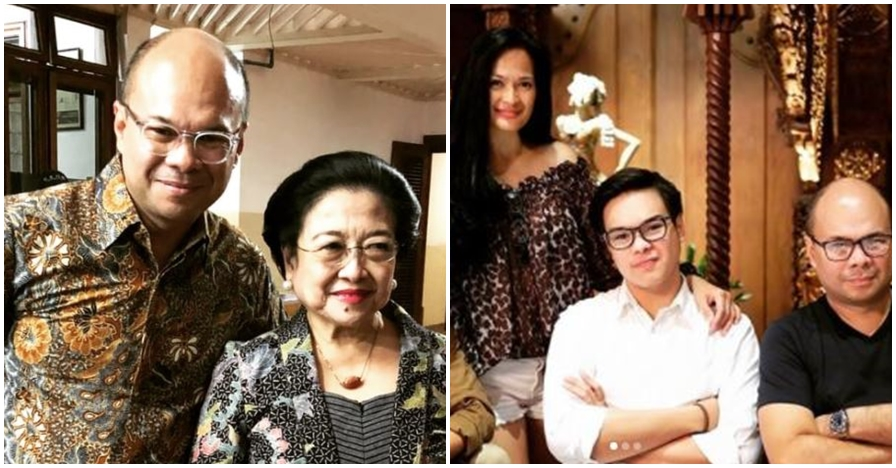 10 Gaya parlente Romy Soekarno, suami Donna Harun yang jarang diekspos