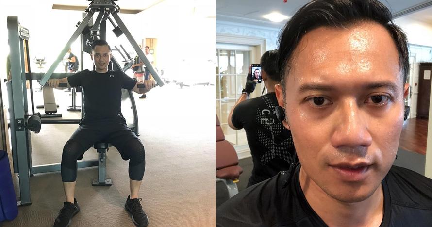 7 Potret macho Agus Yudhoyono saat workout, bikin cewek panas dingin