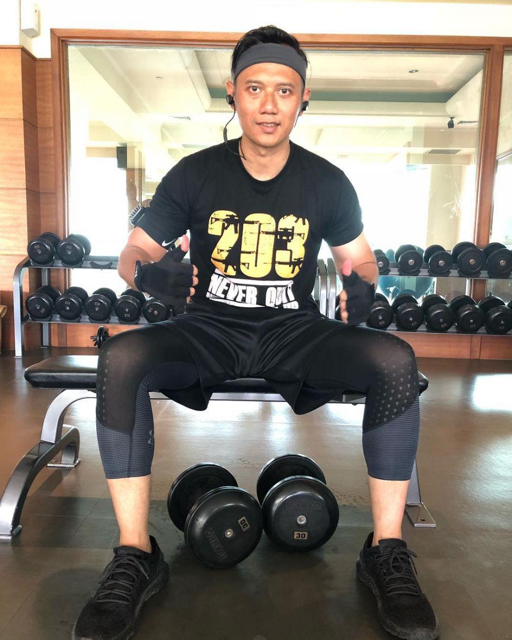 POLITIK/SOSOK - 7 Potret Macho Agus Yudhoyono saat workout, bikin cewek panas dingin © Instagram/@agusyudhoyono