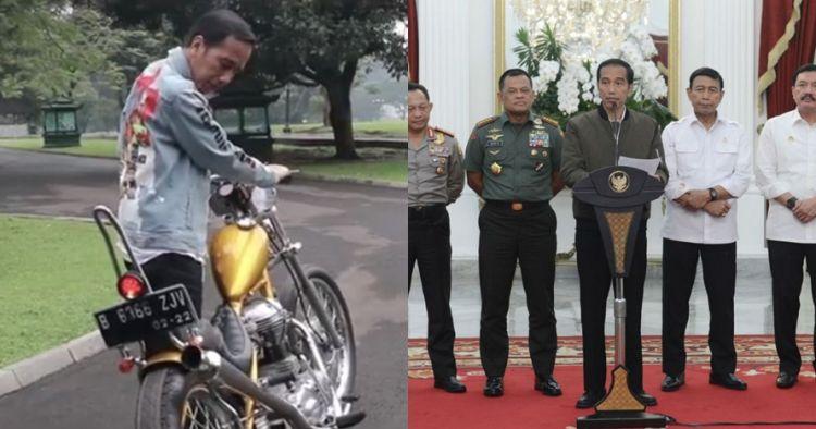 7 Jaket hits yang dikenakan Jokowi, ada yang ala Dilan