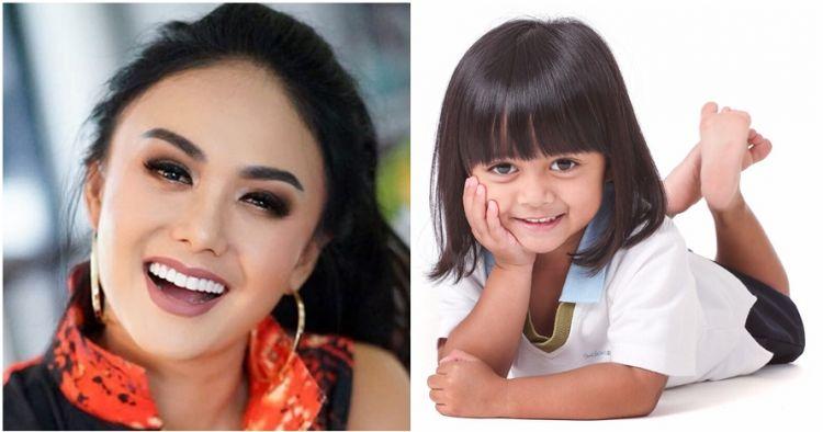 10 Pose imut Liora, cucu Yuni Shara yang posenya bikin gemas maksimal