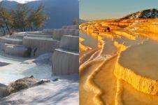 7 Tempat wisata teras batu kapur terindah di dunia, satu di Indonesia