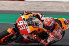 6 Insiden kontroversial Marc Marquez, dua kali senggolan dengan Rossi