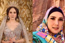 7 Pesona Mulan Jameela dengan balutan hijab, cantiknya bikin adem
