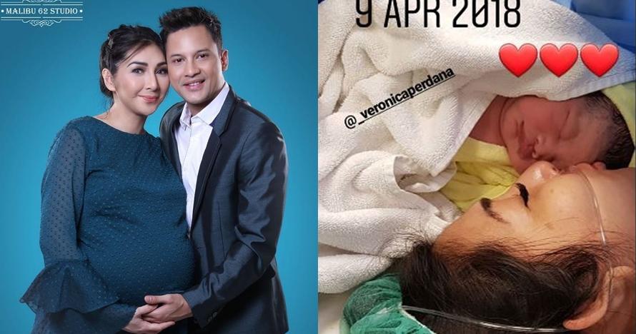 Selamat! Istri Lucky Perdana melahirkan anak pertamanya