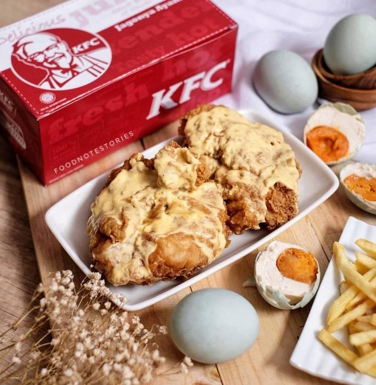 6 Varian ayam crispy © 2018 Istimewa