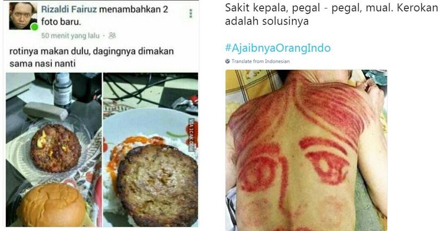 10 Cuitan 'ajaibnya orang Indonesia' ini bikin senyum-senyum sendiri