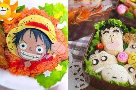 Kreatif abis, 10 kreasi bento karakter anime ini hasilnya bikin kagum