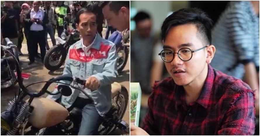 Ditanya alasan tak ikut Jokowi touring, respons Gibran ini mengagetkan
