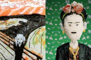 10 Karya dari onigiri ini kreatifnya patut diacungi jempol
