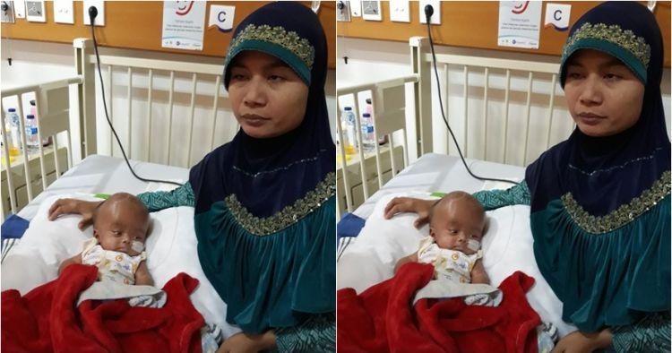 Kisah haru pasutri tunanetra berjuang obati anaknya yang hidrocephalus