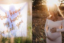 Suami meninggal, foto maternity shoot 3 orang ini bikin pengen nangis