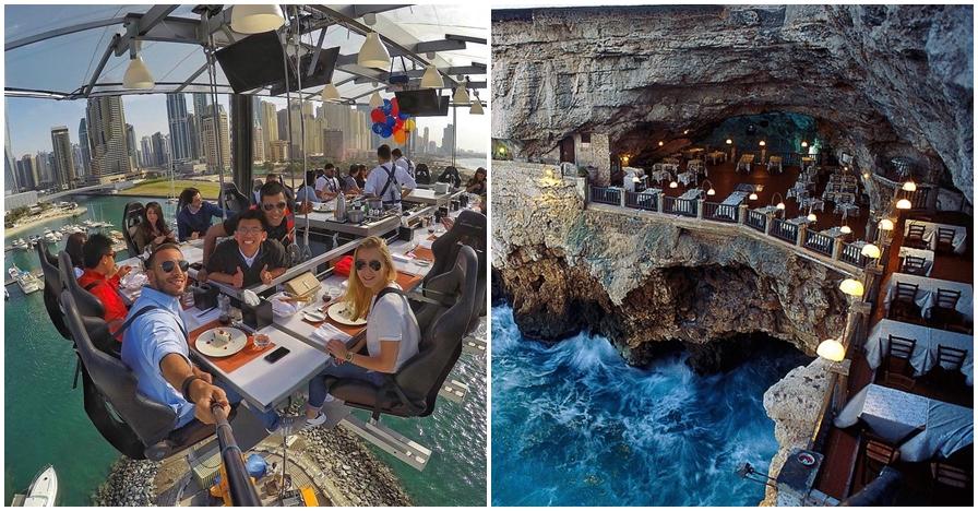 9 Spot restoran ini antimainstream, ada yang di bawah air