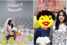 Tak dipamerkan, kondisi asli Syahnaz di bridal shower ini bikin kaget