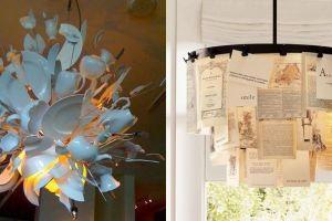 11 Desain lampu hias dari bahan tak terduga ini hasilnya bikin takjub