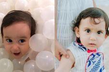 9 Potret imut baby Carle, putri Alexandra Gottardo yang bermata indah