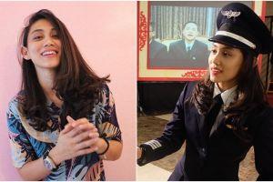 10 Pesona Athira Farina, pilot cantik asal Medan yang jago gebuk drum