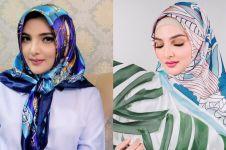 7 Pesona Ashanty dalam balutan hijab, cantik bak wanita Timur Tengah