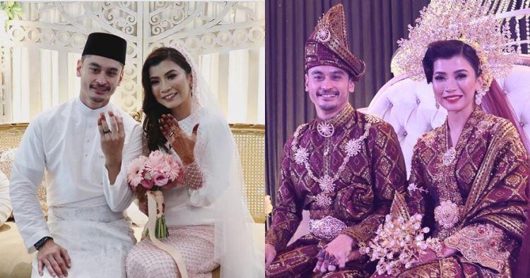 11 Momen sakral nikahan Rueben Elishama & aktris Singapura, selamat ya