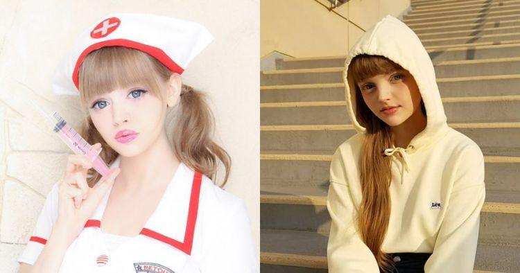 Model ini mirip banget sama Barbie, ini 10 penampilan memukaunya