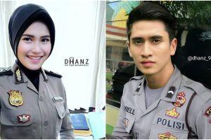 Begini jadinya kalau 8 seleb Indonesia jadi polisi, siapa favoritmu?