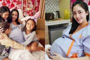 Momen Ririn Dwi Ariyanti jelang persalinan anak ke-3, bayinya ganteng