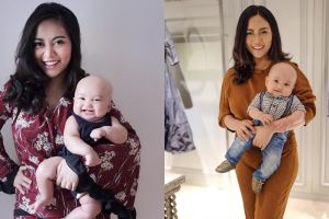 10 Potret Rachel Vennya menggendong bayi Xabiru, stylish banget