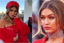 10 Pesona Sofia Jamora, model seksi yang disebut mirip Gigi Hadid