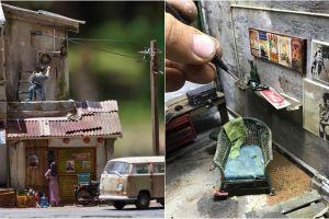 10 Karya miniatur ini tampak nyata banget, keren abis