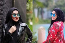 10 Gaya glamor Sarita Abdul Mukti pakai kacamata hitam, sosialita hits