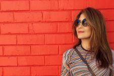 Jalan-jalan ke pasar, gaya Tamara Bleszynski jadi sorotan