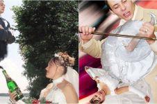 10 Foto prewedding ini bukannya romantis malah bikin tepuk jidat