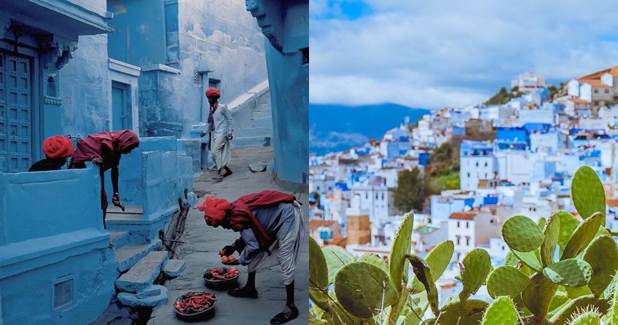 Indahnya 5 kampung biru dari seluruh dunia, salah satunya di Indonesia