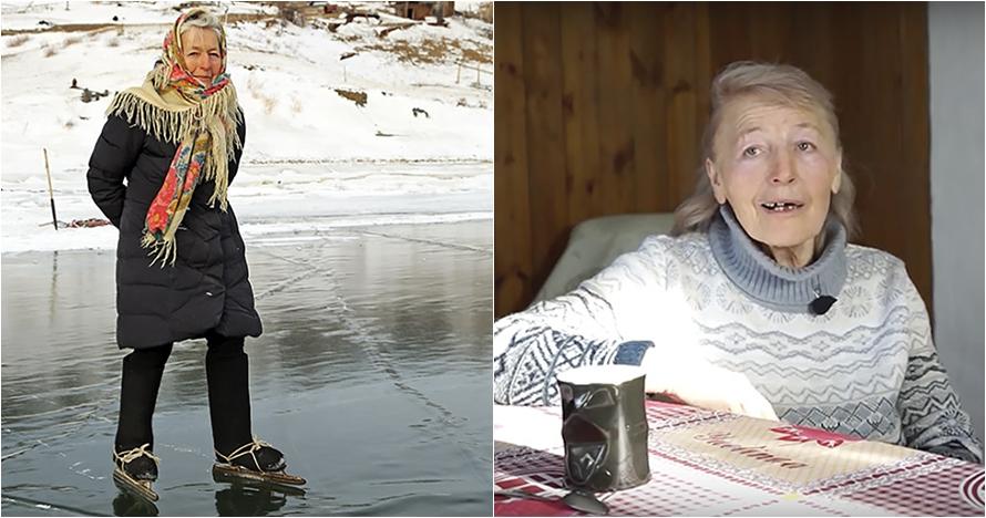 10 Potret wanita usia 76 tahun jago skating, bikin salut