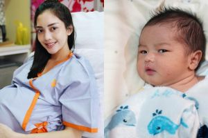 10 Potret imut Ramy Alfie, putra Ririn Dwi Ariyanti yang baru lahir