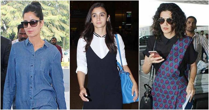 5 Aktris Bollywood saat tanpa makeup di bandara, tetap cantik memukau