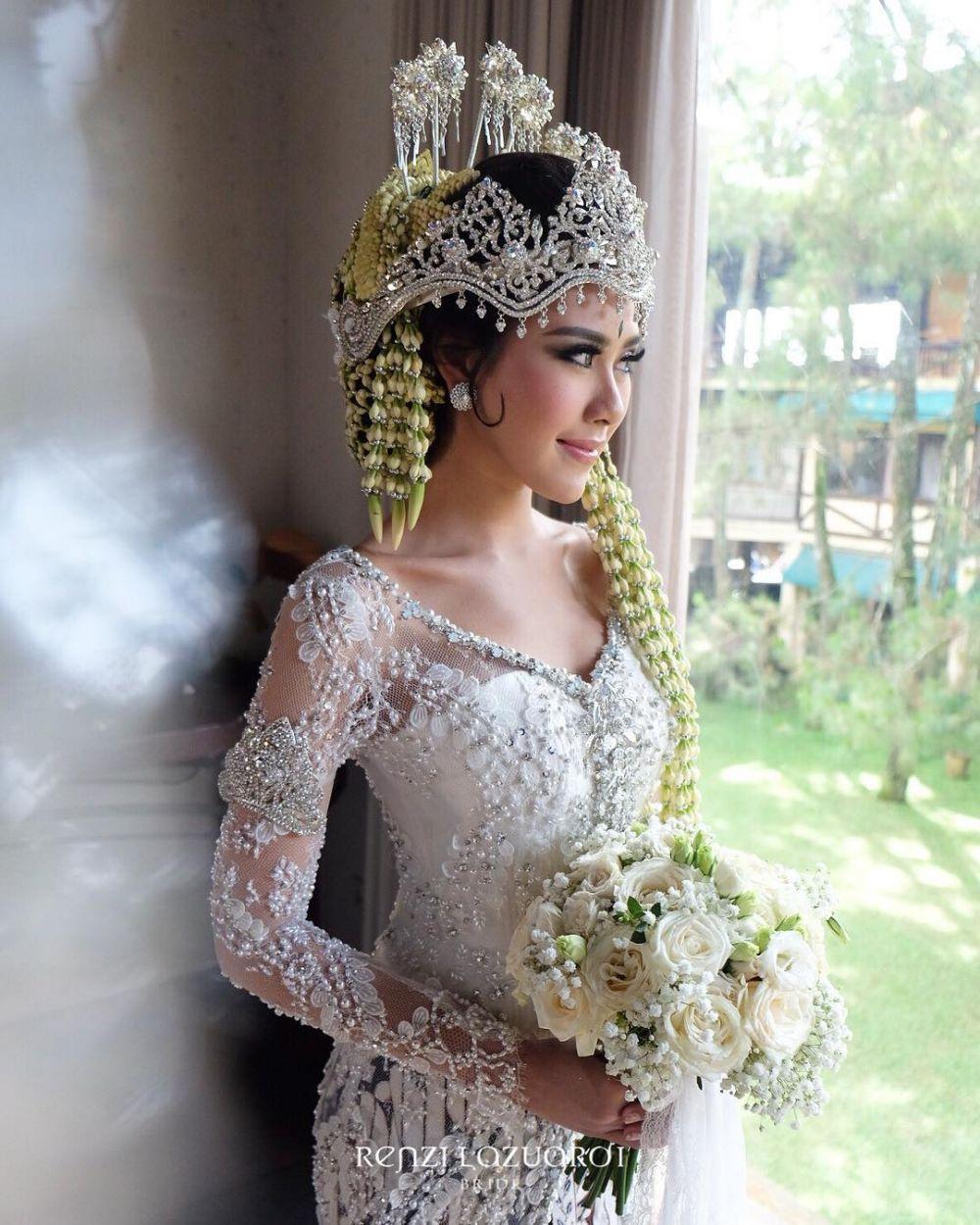 Penampilan Syahnaz nikahan © 2018 brilio.net