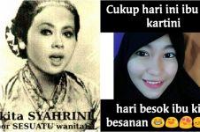 15 Meme Hari Kartini ini bikin nyengir sambil tepuk jidat