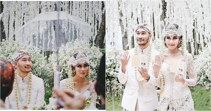 10 Momen sebelum & sesudah akad nikah Syahnaz dan Jeje Govinda