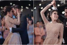10 Potret Syahnaz & Jeje dansa di wedding night, hangat dan romantis