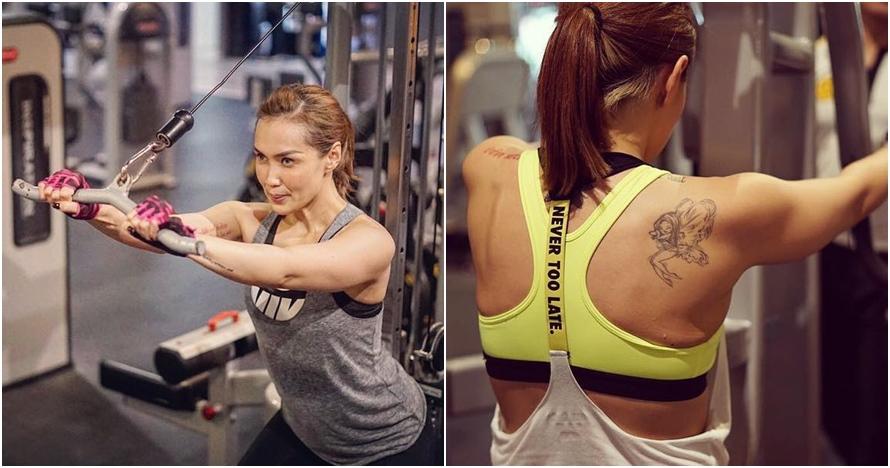 10 Gaya Sara Wijayanto saat olahraga, cantiknya jauh dari kesan seram