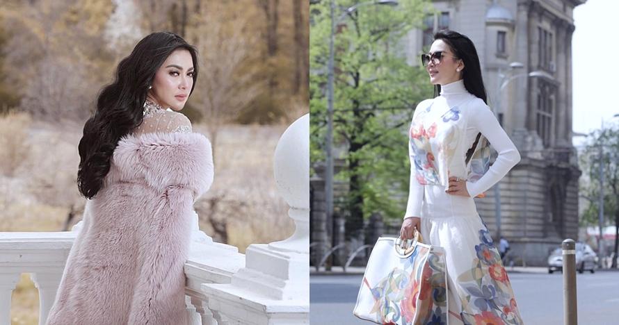 6 Outfit Syahrini ini harganya fantastis, ada yang sampai Rp 50 jutaan