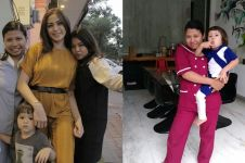 11 Potret Purwati, babysitter El Barrack putra Jedar yang hits abis